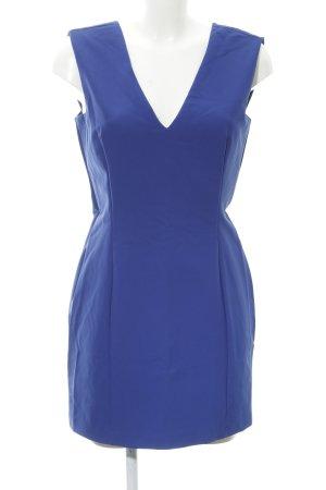Zara Woman Bleistiftkleid blau Elegant