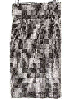 Zara Woman Bleistiftkleid schwarz-weiß Hahnentrittmuster Elegant