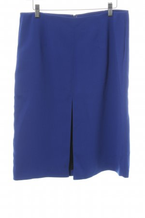 Zara Woman Bleistiftrock blau Business-Look