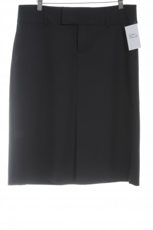 Zara Woman Bleistiftrock dunkelblau Business-Look