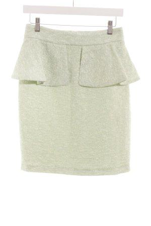 Zara Woman Bleistiftrock hellgrün meliert Elegant