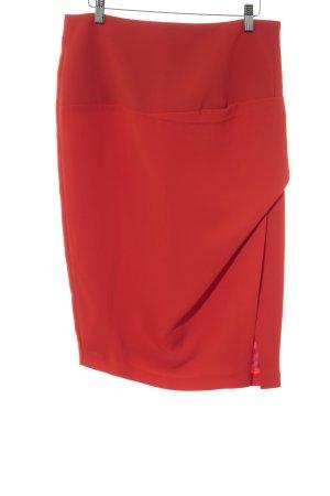 Zara Woman Bleistiftrock hellrot Elegant