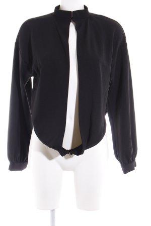 Zara Woman Blouson schwarz Casual-Look