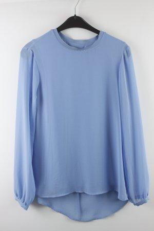 Zara Woman Bluse Gr. XS oversized blau