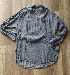 Zara Woman Bluse Tunika Tunikabluse Hemd Struktur M