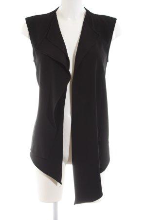 Zara Woman Blousejack zwart zakelijke stijl