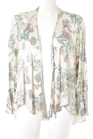 Zara Woman Veste chemisier motif floral style romantique