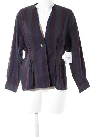 Zara Woman Veste chemisier motif rayé style décontracté