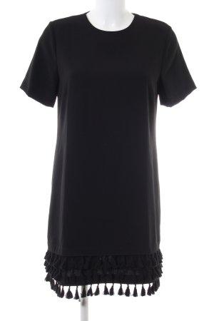 Zara Woman Abito blusa nero stile casual