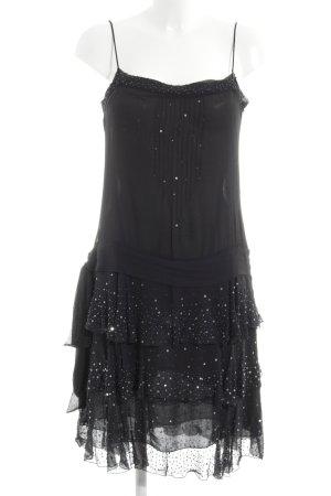 Zara Woman Blusenkleid schwarz Party-Look