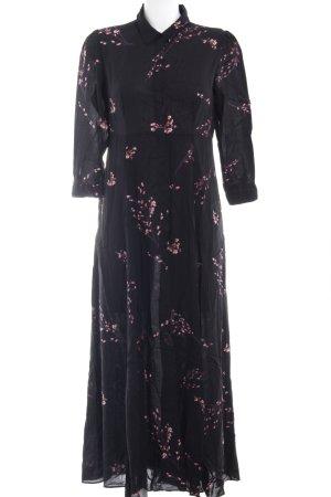 Zara Woman Blusenkleid Blumenmuster Casual-Look