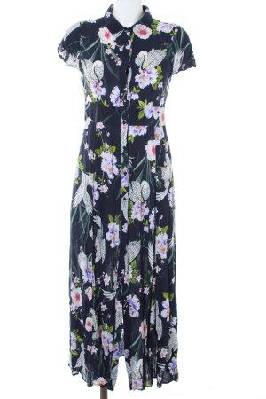 Zara Woman Blusenkleid florales Muster Casual-Look