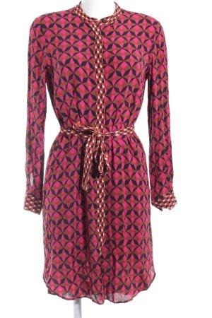 Zara Woman Blusenkleid grafisches Muster Street-Fashion-Look