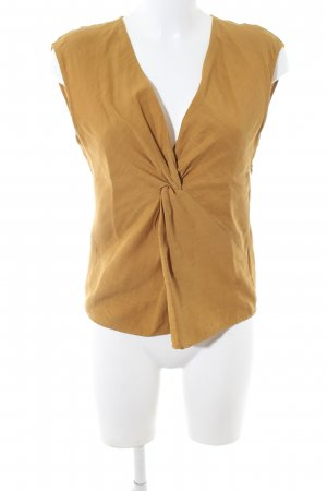 Zara Woman Blouse Top light orange casual look