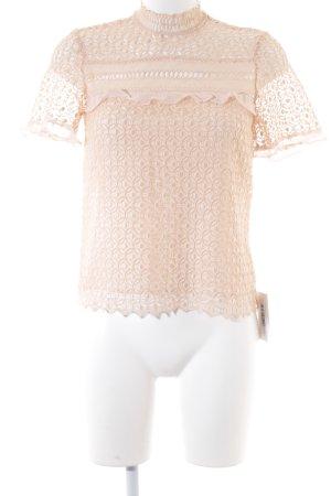 Zara Woman Blusentop altrosa Elegant