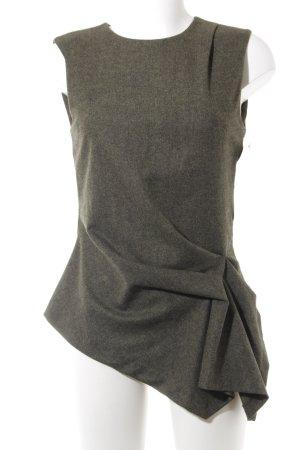 Zara Woman Blusa grigio-verde-cachi elegante
