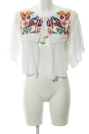 Zara Woman Bolero floral pattern extravagant style