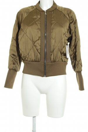 Zara Woman Bomber Jacket olive green casual look