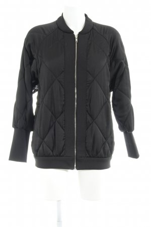 Zara Woman Bomber Jacket black casual look