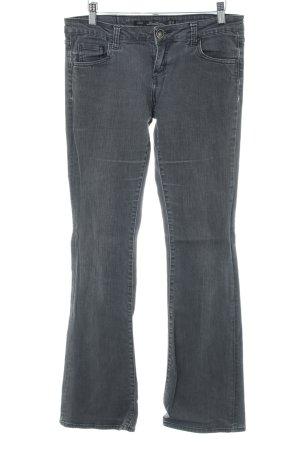 Zara Woman Boot Cut Jeans light grey casual look