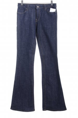 Zara Woman Boot Cut Jeans blau Casual-Look