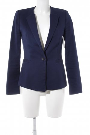 Zara Woman Boyfriend-Blazer dunkelblau Business-Look