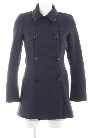 Zara Woman Boyfriend-Blazer neonblau Business-Look