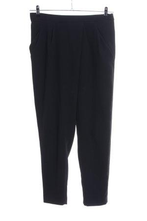Zara Woman Pantalón de pinza negro look casual
