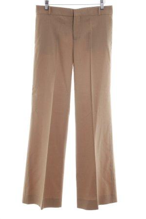 Zara Woman Pantalone a pieghe bianco sporco stile casual