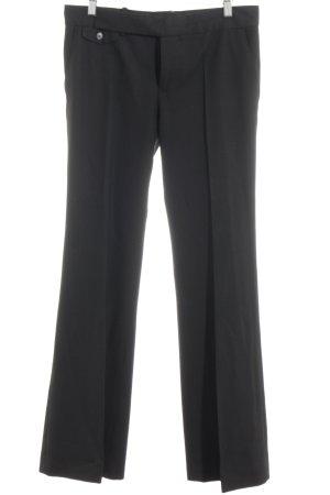 Zara Woman Pantalone a pieghe nero stile professionale