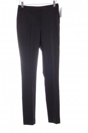 Zara Woman Bundfaltenhose schwarz Business-Look