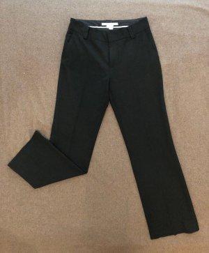 ZARA Woman Business-Hose, Anzughose, Größe 38, schwarz, Bundfalte