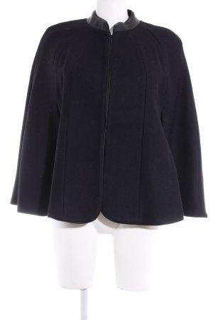 Zara Woman Cape schwarz Casual-Look