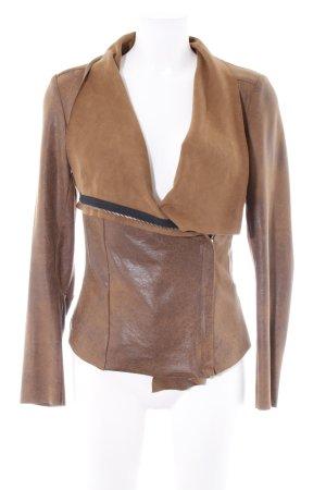 Zara Woman Cardigan camel meliert Casual-Look