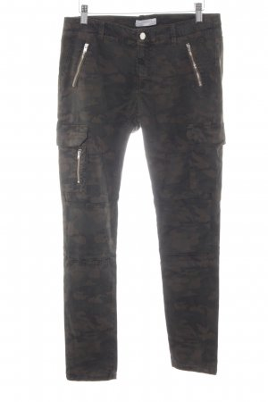 Zara Woman Cargo Pants camouflage pattern casual look
