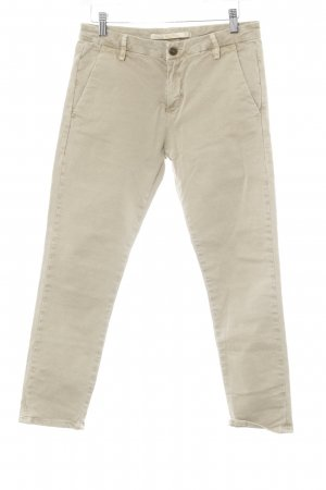 Zara Woman Cargo Pants cream business style