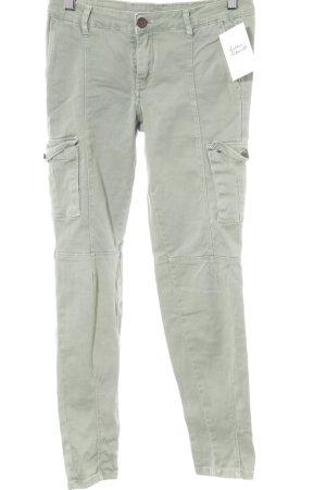 Zara Woman Pantalone cargo verde-grigio stile militare