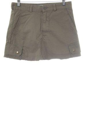 Zara Woman Cargorock olivgrün Casual-Look