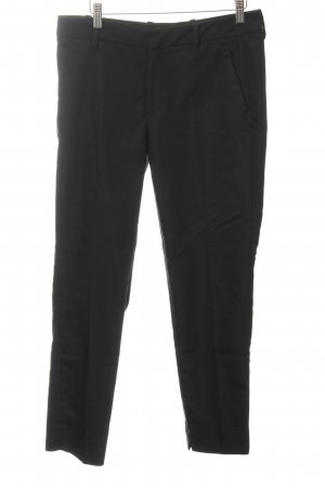 Zara Woman Chinohose schwarz Business-Look