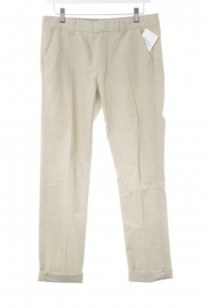 Zara Woman Chinohose hellbeige Casual-Look