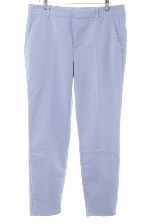 Zara Woman Pantalon chinos bleu azur style simple