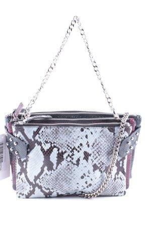 Zara Woman Clutch mehrfarbig Lagen-Look