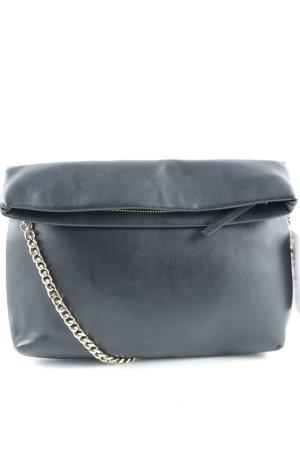 Zara Woman Clutch schwarz-goldfarben Elegant