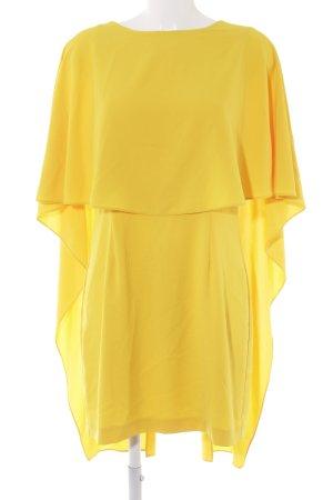 Zara Woman Cocktailkleid gelb Elegant