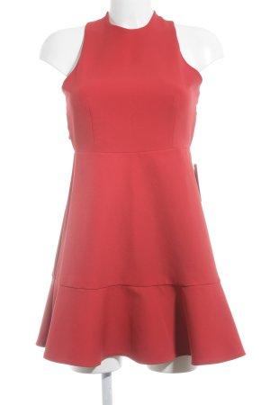 Zara Woman Cocktailkleid rot extravaganter Stil