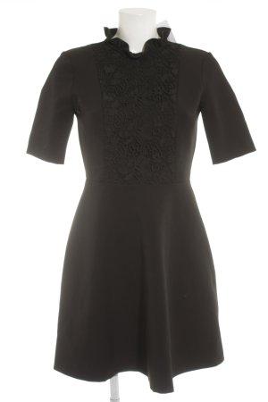 Zara Woman Cocktailkleid schwarz Elegant