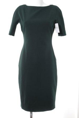 Zara Woman Cocktailkleid waldgrün Business-Look