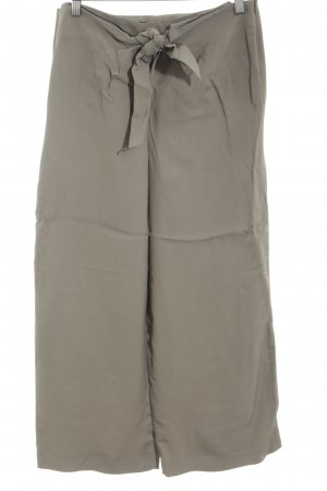Zara Woman Culottes hellgrau Casual-Look