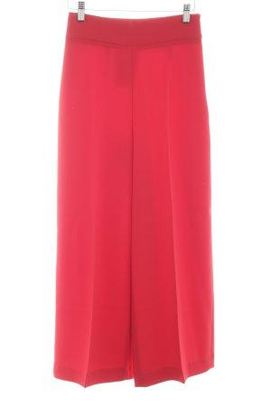 Zara Woman Pantalone culotte rosso stile casual