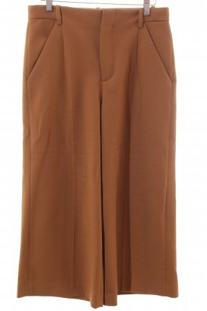 Zara Woman Culottes cognac Street-Fashion-Look